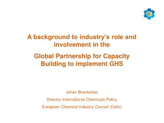 A background to industry's role and involvement in the