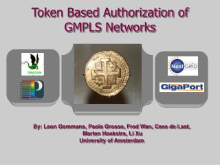 Token Based Authorization of GMPLS Networks