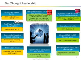 Our Thought Leadership