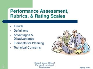 Performance Assessment,  Rubrics,  Rating Scales