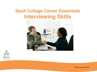 Sault College Career Essentials Interviewing Skills