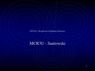 OCF.02.6 - Reciprocals of Quadratic Functions