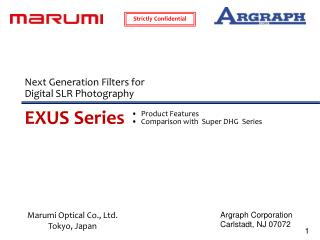 Product Features Comparison with  Super DHG  Series