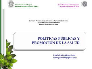 Rubén Darío Gómez-Arias rubengomez33@gmail