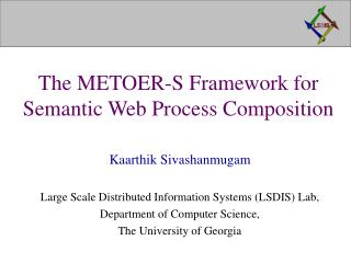 The METOER-S Framework for Semantic Web Process Composition