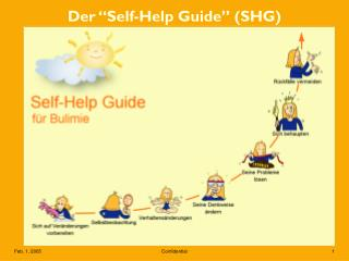 "Der ""Self-Help Guide"" (SHG)"