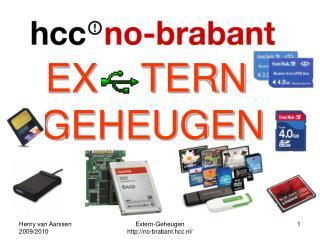 EX    TERN GEHEUGEN