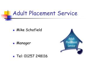 Adult Placement Service