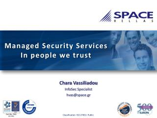 Managed Security Services In people we trust