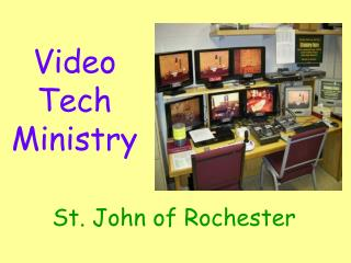 Video Tech Ministry
