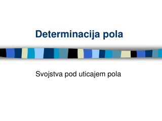 Determinacija pola