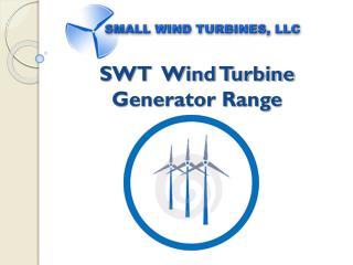 SWT  Wind Turbine  Generator Range