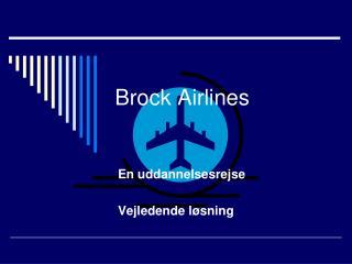 Brock Airlines