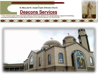 + St . Mary and St. Joseph Coptic Orthodox Church
