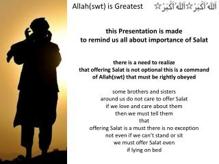 Allah( swt ) is Greatest