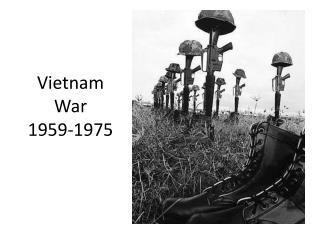 Vietnam War 1959-1975