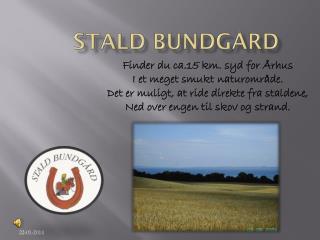 STALD BUNDGÅRD