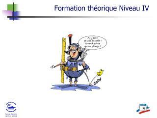 Formation th�orique  Niveau  IV
