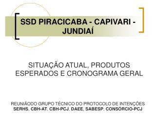 SSD PIRACICABA - CAPIVARI - JUNDIAÍ