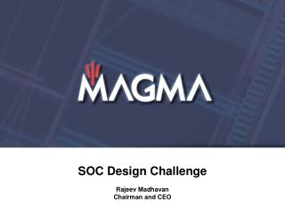 SOC Design Challenge