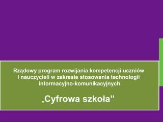 Czas trwania programu: od dnia .................... kwietnia 2012 r. do dnia 31 sierpnia 2013 r.
