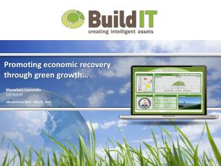 Promoting economic recovery  through green growth…