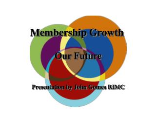 Membership Growth  Our Future Presentation by John Gomes RIMC