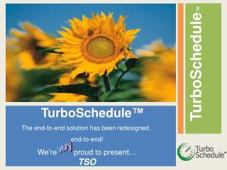 TurboSchedule ™