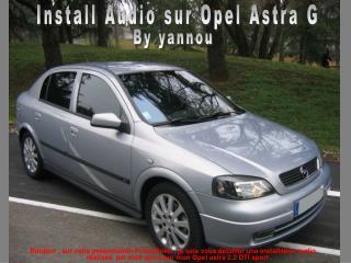 Install Audio sur Opel Astra G