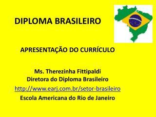 DIPLOMA BRASILEIRO