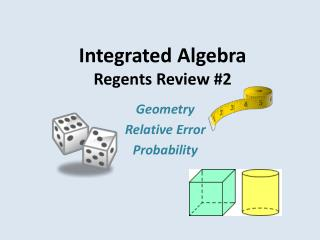 Integrated Algebra Regents Review #2