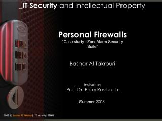 _ IT Security  and Intellectual Property