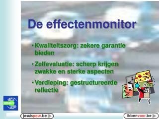 De effectenmonitor
