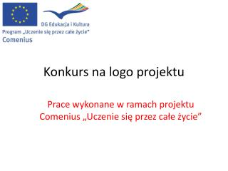 Konkurs na logo projektu