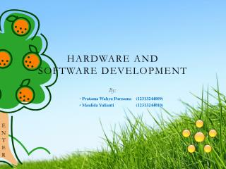 Hardware and Software Development