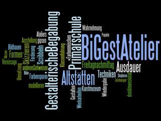 """"""" Bi Gest  - Atelier """" (=  Bi ldnerisches  Gest alten)"""