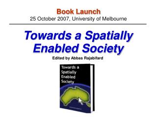Book Launch 25 October 2007, University of Melbourne