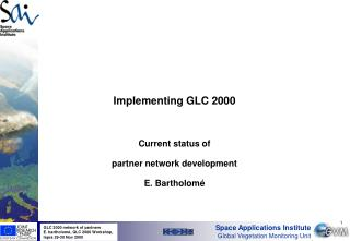 Implementing GLC 2000