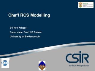 Chaff RCS Modelling