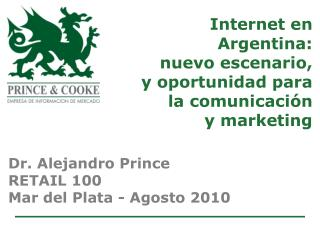Internet en  Argentina:  nuevo escenario, y oportunidad para la comunicaci�n  y marketing
