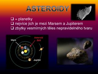 ASTEROIDY