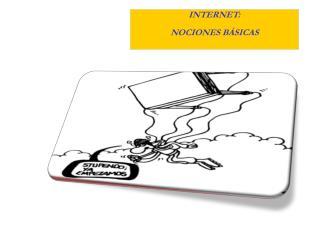 INTERNET: NOCIONES BÁSICAS