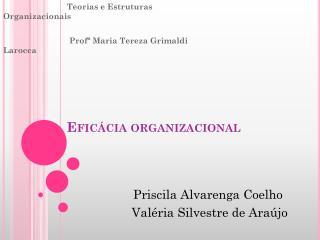 Efic�cia organizacional