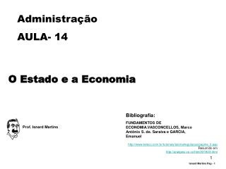 Administração AULA-  14