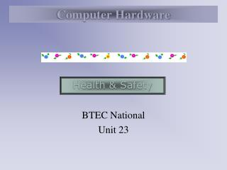 BTEC National Unit 23