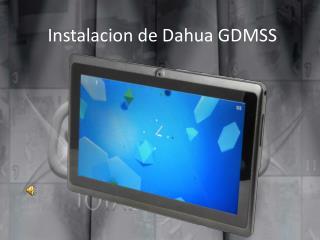 Instalacion de Dahua GDMSS