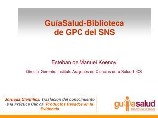 GuíaSalud-Biblioteca  de GPC del SNS