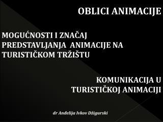 OBLICI ANIMACIJE