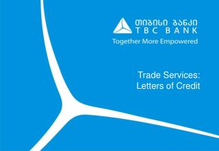 Trade Services: Letters of Credit