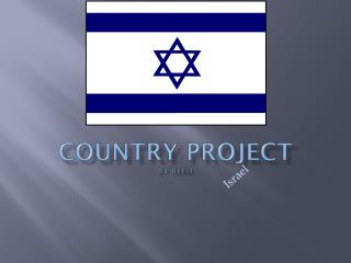 Country Project by Reed